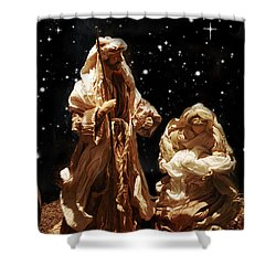 The Crib Shower Curtain by Gina Dsgn