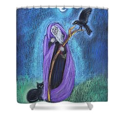 The Crone Shower Curtain
