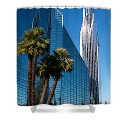 The Crystal Cathedral  Shower Curtain by Duncan Selby
