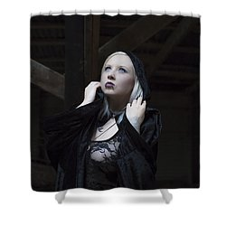 The Cup Shower Curtain by Mez