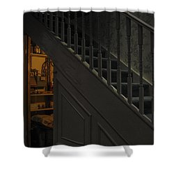 The Cupboard Under The Stairs Shower Curtain