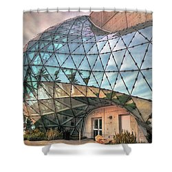 The Dali Museum St Petersburg Shower Curtain