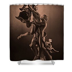 The Dance Of Love Shower Curtain