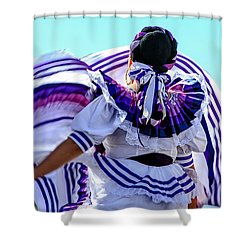 The Dancer Shower Curtain by Menachem Ganon