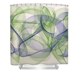 The Dancers Shower Curtain by Marian Palucci-Lonzetta