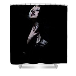 The Dark Witch Shower Curtain