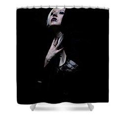 The Dark Witch Shower Curtain