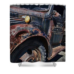 The Darlins Truck Shower Curtain by David Arment
