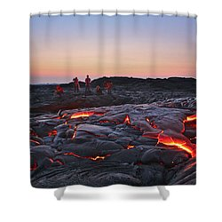 The Dawn Of Time Shower Curtain