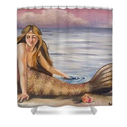 The Day-dreamer Shower Curtain