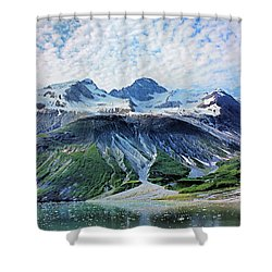 The Definition Is Awesome Shower Curtain by Kristin Elmquist