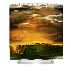 The Desertland Shower Curtain