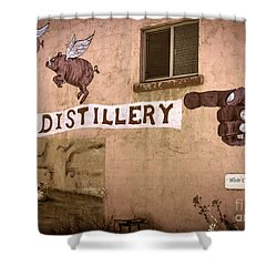 The Distillery Shower Curtain