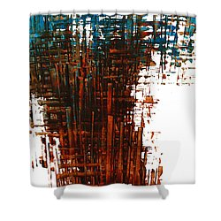 The Divine In Us 265.111011 Shower Curtain by Kris Haas