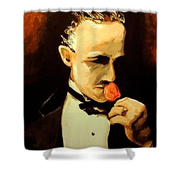 The Don And The Rose Shower Curtain