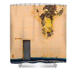 The Door - Featured 2 Shower Curtain by Alexander Senin