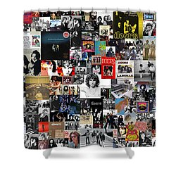 The Doors Collage Shower Curtain