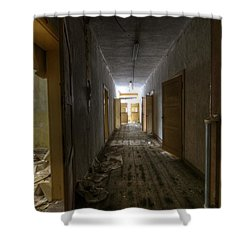 The Doors Shower Curtain by Nathan Wright