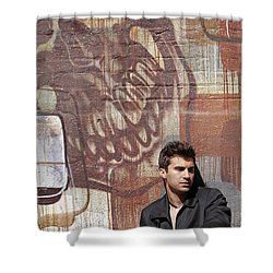 The Dream Killer Shower Curtain by Shoal Hollingsworth