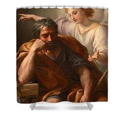 The Dream Of St Joseph Shower Curtain