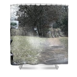 The Drive Home Shower Curtain