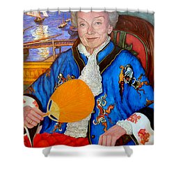 The Duchess Shower Curtain by Tom Roderick