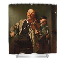 The Duet Shower Curtain
