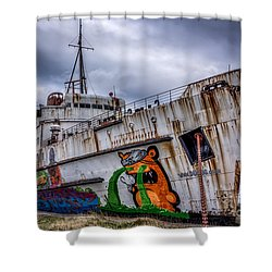 The Duke Of Lancaster Shower Curtain by Adrian Evans