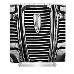 The Edsel Grill Shower Curtain by Paul Mashburn
