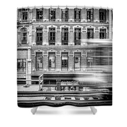 The Elevated Shower Curtain by Scott Norris