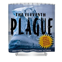 The Eleventh Plague Bookcover Shower Curtain by Mike Nellums