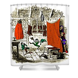 The Elves And The Shoemaker Shower Curtain