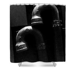 The Embrace Shower Curtain by James Aiken