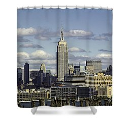 The Empire State Building 2 Shower Curtain