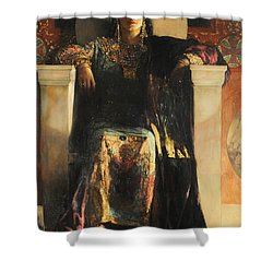 The Empress Theodora Shower Curtain