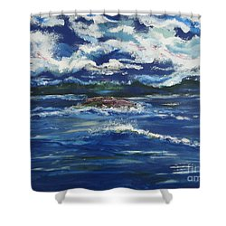 The Enchanting Sea  Shower Curtain