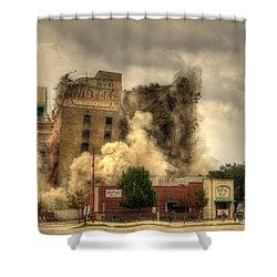 The End Of An Era Shower Curtain by David Morefield