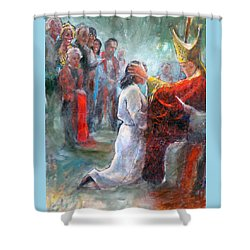 The Episcopal Ordination Of Sierra Wilkinson Shower Curtain