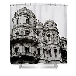 The Esplanade Mansions Shower Curtain