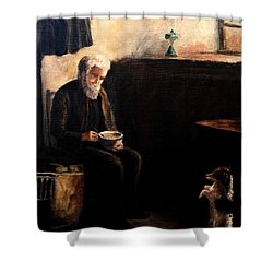 The Evening Meal Shower Curtain