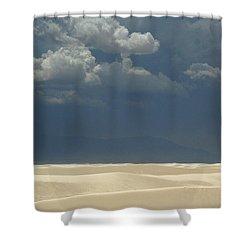 The Expulsion Shower Curtain