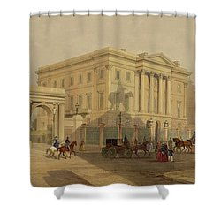 The Exterior Of Apsley House, 1853 Shower Curtain by English School