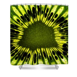 Shower Curtain featuring the photograph The Eye by Gert Lavsen