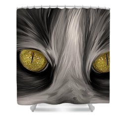 The Eyes Have It Shower Curtain by Angela A Stanton