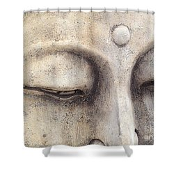 The Eyes Of Buddah Shower Curtain