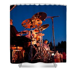 The Fabulous Kingpins - 2013 Shower Curtain by David Patterson