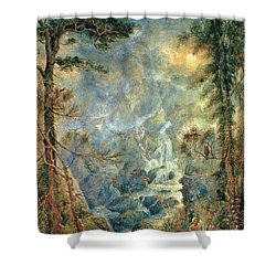 The Fairy Falls, 1908 Shower Curtain