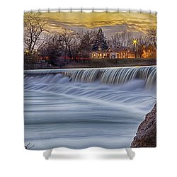 The Falls Of White River Shower Curtain