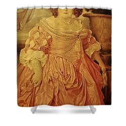 The Fat Lady Shower Curtain