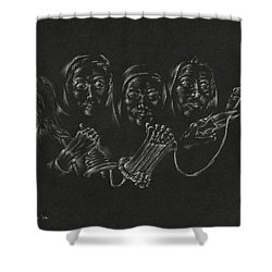 The Fates Shower Curtain